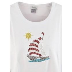 Sailboat & Sun