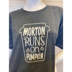 Morton Runs On Pumpkin