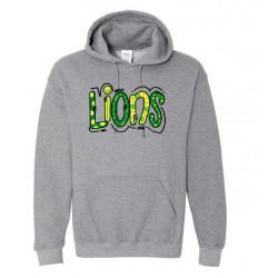 Lions Adult Hooded Sweatshirt